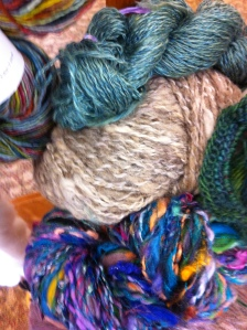 various fibers for spinning