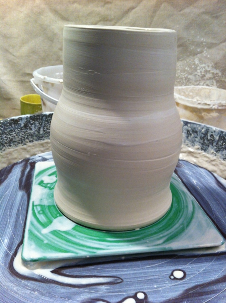 able to throw after good instruction about porcelain!