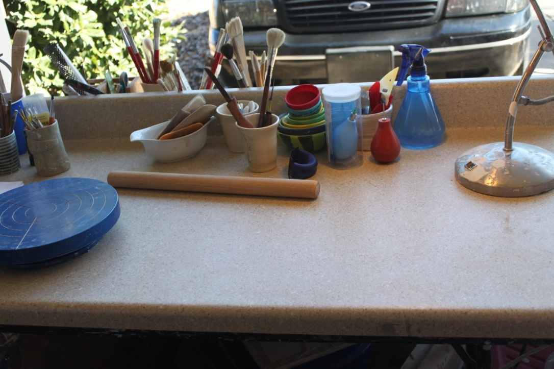 Using a kitchen counter segment from Lowe's